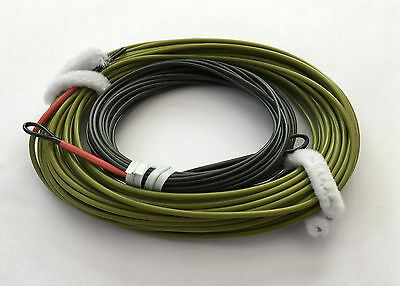 MDI Game Fast-Cast Shooting Head Fly Line 9/10# Sink 3IPS ST9/10S3 Double Loop