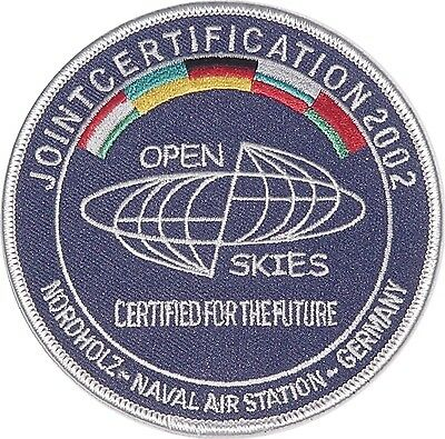 Patch Aufnäher MFG 3 Jointcertification 2002 Nordholz Naval Air Station ...A2354