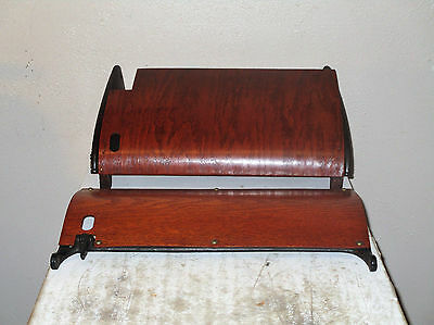 Antique 1890s Treadle Sewing Machine Cabinet Part DRIP CATCHER  W&W Sewing Mach