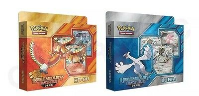 Pokemon TCG Ho-Oh & Lugia Deck - Ho-Oh & Lugia Legendary Battle Decks FREE EXPRE