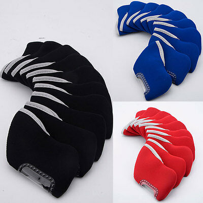 10pcs Universal Golf Club Headcover Protective Head Covers Protector Portable