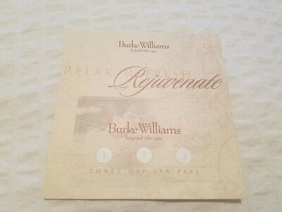 Burke Williams Three Day Spa Pass and 20% Service Discount Card - $150+ Value!