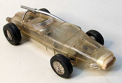 Schuco MICRO RACER #1005 see-through clear plastic formula 1 WORKING