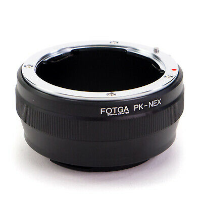Adapter Ring Pentax K PK Lens to Sony E-Mount Camera NEX A7S A7R II A6000 A6500