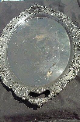 Reed & Barton Renaissance Huge Tray silver plate serving platter - 6000