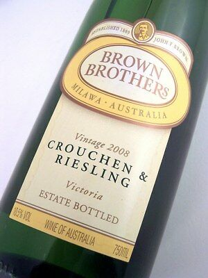 2008 BROWN BROTHERS Crouchen & Riesling B Isle of Wine