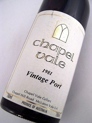 1981 CHAPEL VALE Vintage Port Isle of Wine