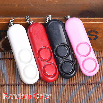 Anti-rape Device Alarm Loud Attack Panic Keychain Safety Personal Security WT