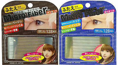 BN Japan Micro Fiber EX Nudy & Clear Double Sided Eyelid Tape 120 pcs-US Seller