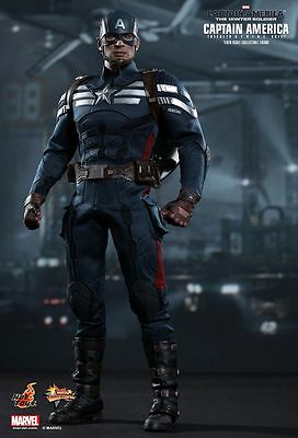 LAYBY CLEARANCE HOT TOYS 1/6 Captain America Stealth STRIKE Suit PRICE = $289.99