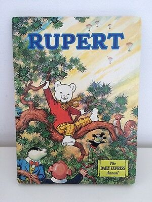 Vintage Rupert Annual Daily Express 1973 Wonderful Illustrations