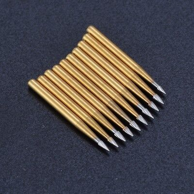 10pcs/pack Dental trimming & finishing drills Tungsten CARBIDE burs FG 7901