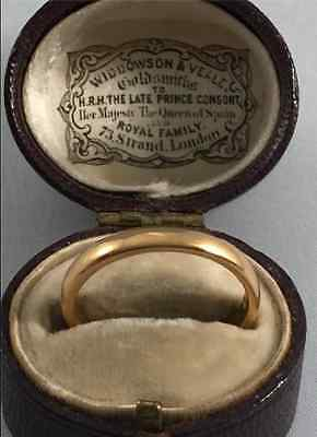 Antique 22ct pure welsh gold ring ,the rarest welsh gold ring in the world
