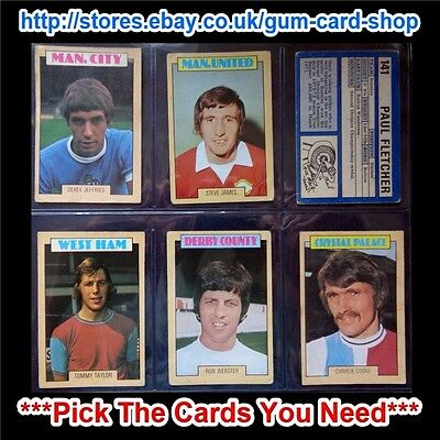 A&Bc 1973 Blue Back 2Nd Series (Fair 132 To 264) *Pick The Cards You Need*