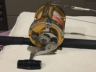 Pen Rod And Reel Combo 24 Kg Out Fit. Has New Line.in Very Good Condition
