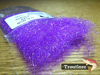 Ice Dub Uv Purple Hareline Dubbin - New Fly Tying Dubbing