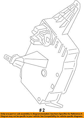 New Oem Ford Electrical Wiring Sleeve Connector Towing Trailer 9u5z
