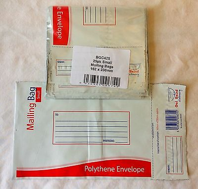 Polythene Envelope Shipping Mail Bags Pk 25