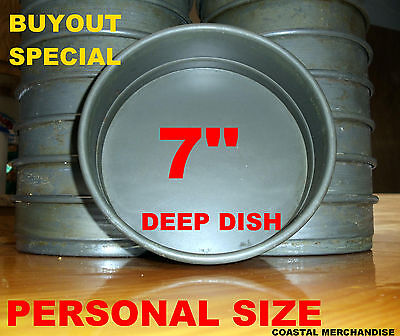 7 In Deep Dish Pizza Pan Anodized Aluminum * Restaurant Quality