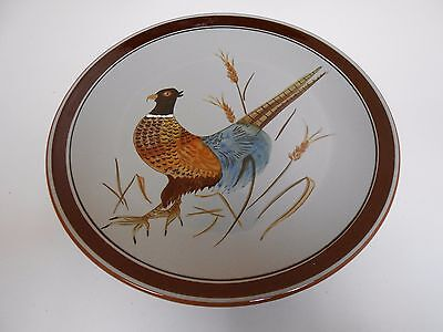 "Stangl Art Pottery 11 1/4"" Diameter Pheasant Plate Charger 3774"