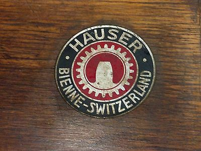 Antique Machinist Box Hauser Swiss Made Rare Nice!