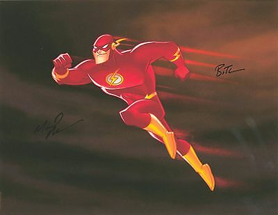 JUSTICE LEAGUE DC Comics THE FLASH Bruce Timm SUPER HERO Giclee SIGNED