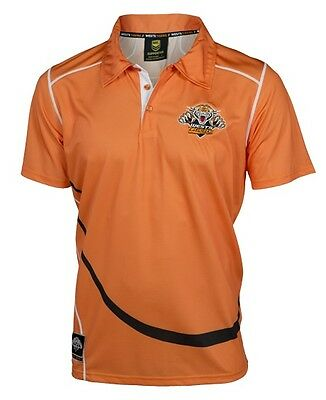 Wests Tigers NRL Polyester Polo Shirt Size S-5XL! BNWT's! 6