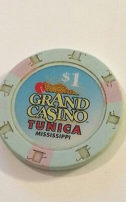 Grand Casino Tunica Mississippi $1 Gaming Chip