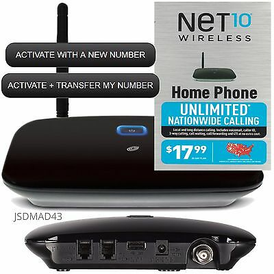 Net10 No Contract Wireless Home Phone Service | Flisol Home
