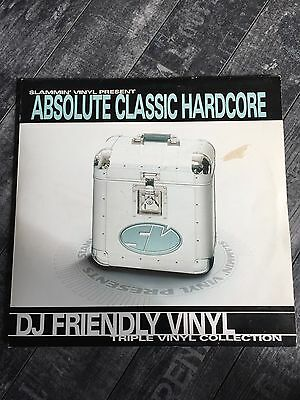 "Breakbeat OLDSKOOL ""Absolute Classic Hardcore""  DJ FRIENDLY VINYL Triple Vinyl"