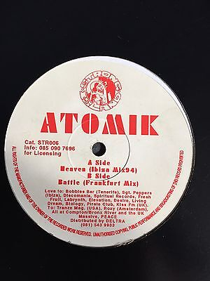 Breakbeat OLDSKOOL ATOMIK Heaven Strong Island RAR!!!