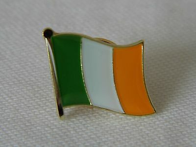 Ireland Irish Flag Country Metal Lapel Pin Badge