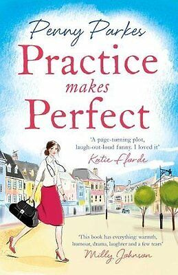 Practice Makes Perfect (The Larkford Series) by Penny Parkes New Paperback Book