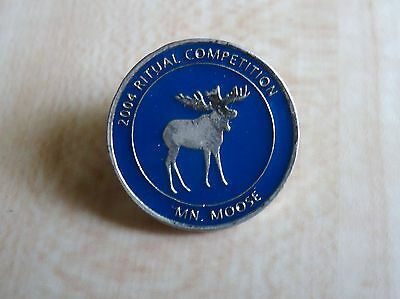 A Loyal Order of Moose Minnesota Association 2004 Ritual Competition Lapel Pin