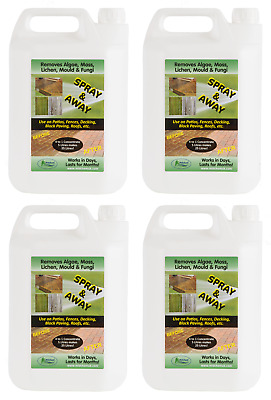 Patio Cleaner Decking Fencing Mould Algae Moss Killer Remover Drive cleaner 20L