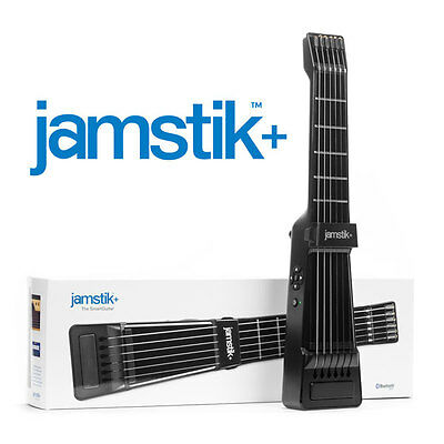 New Zivix Jamstik+ Portable Midi Electric Guitar For Android -- Ios -- Mac