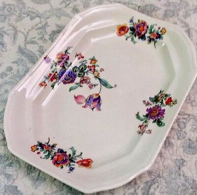 "Paramount China Vintage Floral Platter 10.5"" Porcelain Serving Tray TS&T"