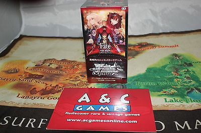 Fate/stay night Unlimited Blade Works Vol 2 Sealed Booster Box Japanese Edition