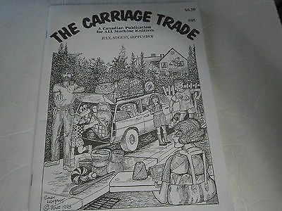 September 1993 The Carriage Trade All Machine Knitting Pattern Book Magazine