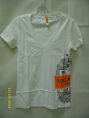 10 Cane Rum - Promo Ladies Branded T-Shirt - Small *NEW*