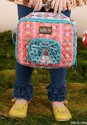NWOT MATILDA JANE Lesson Plan LUNCHBOX School Houses Lunch Bag Back to School