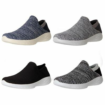 New YOU By Skechers Women's Comfort Casual Slip On Walking Work Shoes Cheap