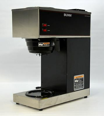 Bunn VPR Coffee Brewer 12-Cup Commercial Pourover Machine Pour-Omatic 2 Warmers