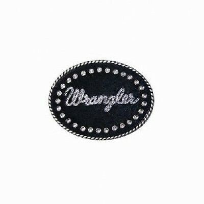 WRANGLER Womens DALLAS Diamante Belt Buckle FREE POSTAGE