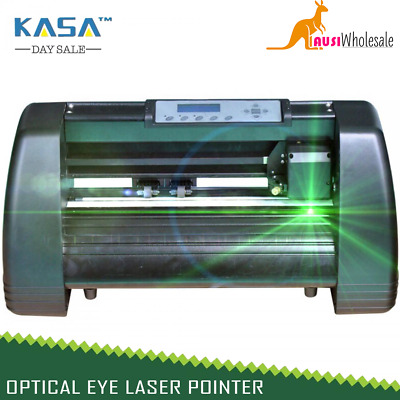 Desktop Vinyl Cutter Plotter New Sign Cutting Pro Optical Eye Laser Pointer