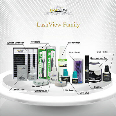 Eyelash Extension Lash Application Tools Accessories 1 stop Shopping in LashView