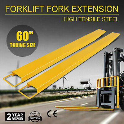 "60x5.9"" Forklift Pallet Fork Extension Pair High Tensile Lifts Trucks Truck"
