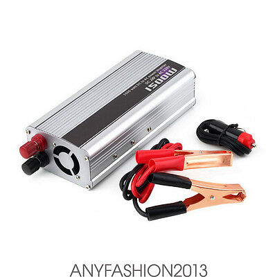 Solar 1500W Power Inverter Peak 24V DC To 220V AC Modified Sine Wave Converter