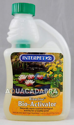 Interpet Bio-Activator 250ml - starts biological activity for a healthy pond