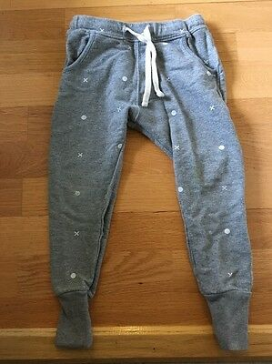 Beau Loves Girl Boy Size 5 Gray XO print Pants